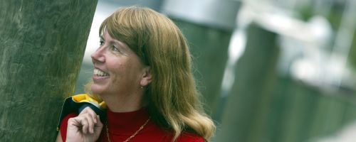 Christine Kling (Photo Credit: Mike Stocker, South Florida Sun-Sentinel)