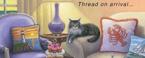 Mainely Needlepoint Mysteries by Lea Wait
